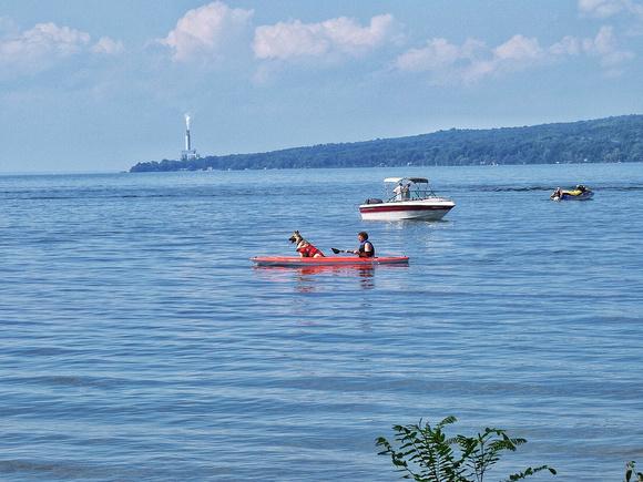 A Sunday at Cayuga Lake
