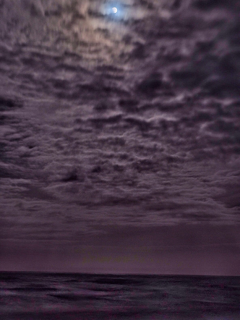 Ocean Lunar Eclipse