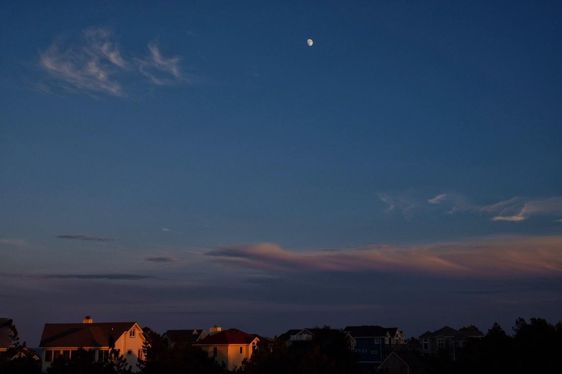 Moonrise Over Corolla