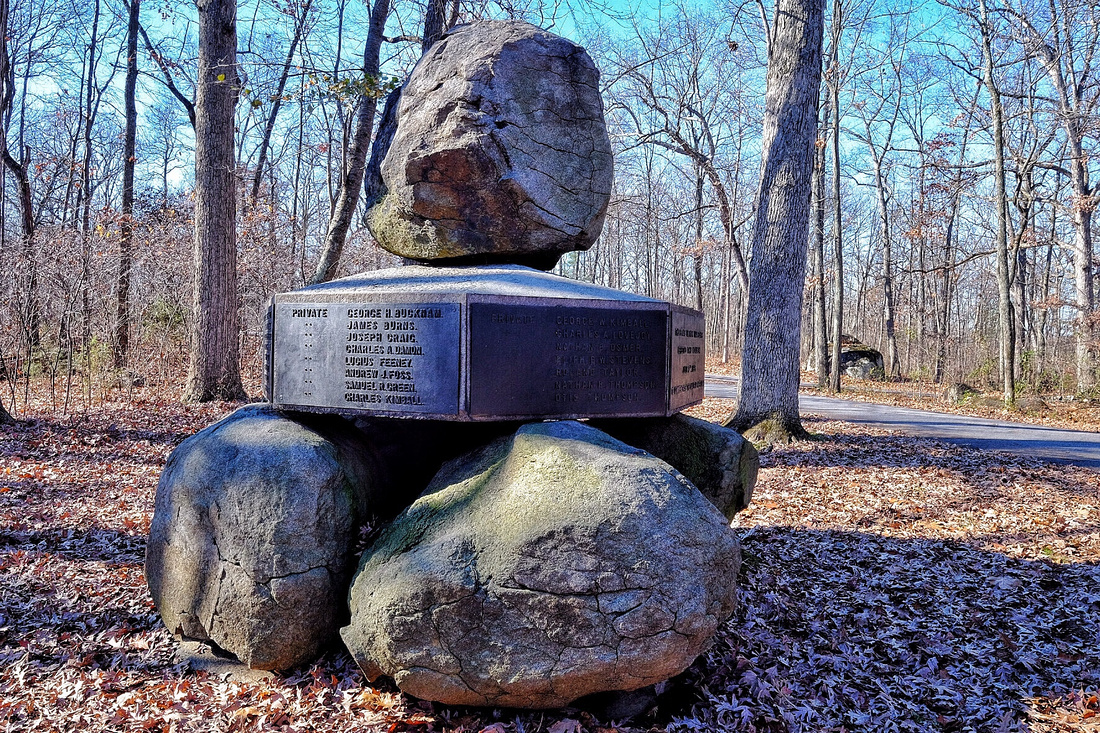 5th New Hampshire Monument 1