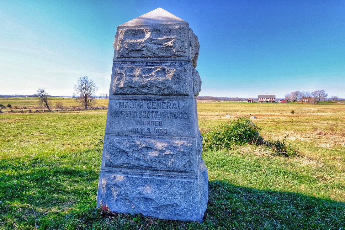 Hancock Wounded Monument