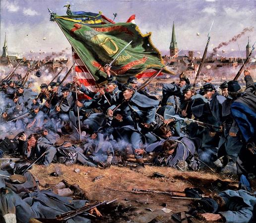 Irish at Fredericksburg