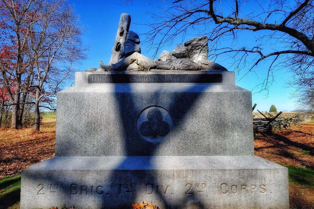116th Pennsylvania Monument 1